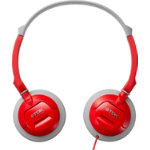 TDK ST100 Over Ear Headphones Red