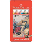 Faber Castell Woodcase Pencils Classic Colour