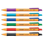 Stabilo Pointball Ballpoint Pen Assorted Pack 6