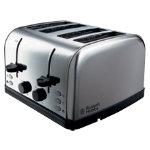 Russell Hobbs stainless steel Futura 4 slice toaster
