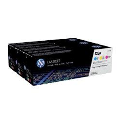 HP 128A Original 3 Colours Toner Cartridge CF371AM