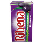 Ribena Blackcurrant 288ml cartons pack of 27
