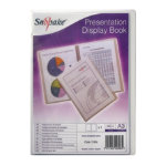 Snopake Superline 20 pocket A3 presentation book clear