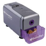 Swordfish VariPoint three point option electric pencil sharpener