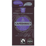 Cafe Direct El Reto coffee pod 53g pack of 10