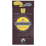 Cafe Direct Americano coffee pod 53g pack of 10