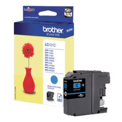 Brother LC121C Original Cyan Ink cartridge