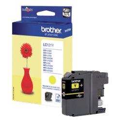 Brother LC121Y Original Yellow Ink cartridge