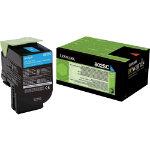 Lexmark Toner Cartridge Cyan LEX80C2HYE Toner Cartridge LEX80C2HYE Cyan