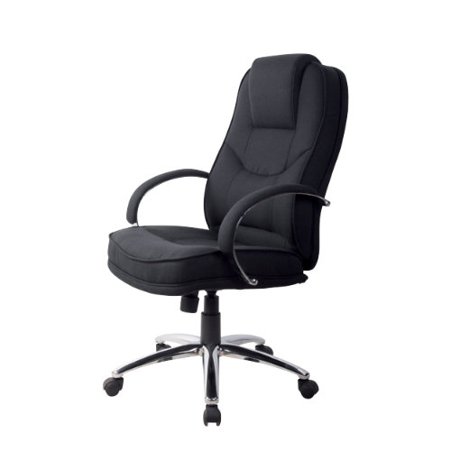 rs soho rome2 fabric executive office chair in black ebay