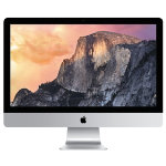 Apple 27 iMac Quad Intel i5 34GHz 8GB RAM 1TB Fusion Drive NVIDIA GeForce GTX 775M graphics processor