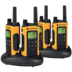 Motorola TLKR T80 Extreme two way radio quad pack