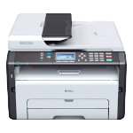Ricoh SP213SFW wireless 4 in 1 multifunction mono printer
