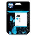 HP 38 Original Ink Cartridge C9415A Cyan