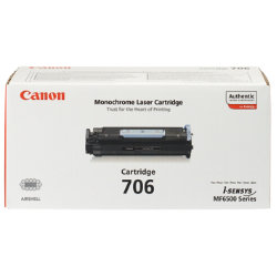 Canon CRG706 Black Laser Toner Cartridge