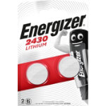 Energizer Watch Battery Miniatures 2430 CR2430 CR2430 Pack 2