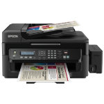 Epson EcoTank L555 All in One wireless inkjet printer with fax black