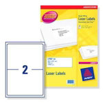 Avery Address Label L7168 100 White 144 x 20 cm 200 Labels per pack