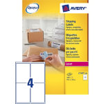 Avery Shipping Label L7169 Bright White 99 x 139 cm 400 Labels per pack
