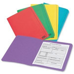 ELBA Report Cover 100090142 Foolscap Yellow Purple Orange Green Blue Manila
