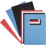 GBC Binding Cover 46705E A4 Black