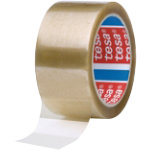 tesa 4089 Tape Clear 50 mm x 66 m 6 Pieces