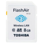 Toshiba 8GB FlashAir Wi Fi SD Card