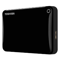 Toshiba Canvio Connect II 500GB external hard drive  black
