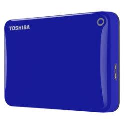 Toshiba Canvio Connect II 500GB external hard drive  blue
