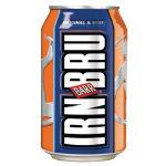Irn Bru cans 330ml pack 24