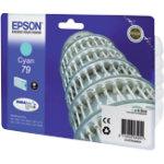 Epson 79 Original Cyan Ink Cartridge C13T79124010