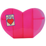 Really Useful Boxes Small Heart Organiser Tray