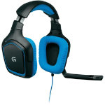 Logitech G430 surround sound gaming headset for pc and ps4 black