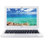 Acer Chromebook CB3 111 116 Laptop Intel Celeron processor N2830 2GB 16GB white