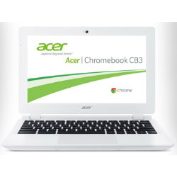 Acer Chromebook CB3111 11.6 inches  Laptop Intel Celeron processor N2830 4GB 32GB white