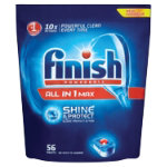 Finish All in One Max Shine and Protect dishwasher tablets original pack 56