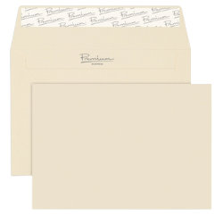 Premium Business Envelopes Plain Peel and Seal 120gsm 114 x 162 mm Box of 500