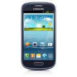Samsung Galaxy S3 Mini I8200 8GB 3G Sim Free Cellular Smartphone Blue