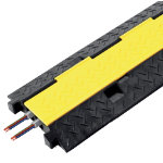 Vulcascot Cable protector Heavy duty Black yellow