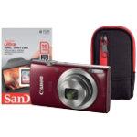 Canon Camera Kit Ixus 175 205 Megapixel