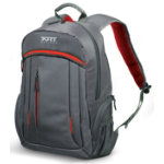 Port Designs Megeve laptop backpack 156   grey red