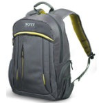 Port Designs Megeve laptop backpack 156   black yellow