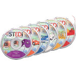 ST3Di PLA filament starter pack 3DSTA2 Red Yellow Blue White Orange Purple