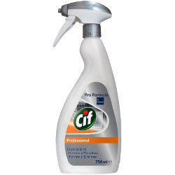 CIF PROFESSIONAL OVEN & GRILL CLEANER SPRAY 750ML