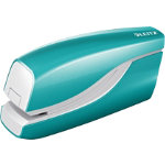 Leitz NeXXt Series WOW Electric Stapler Metallic Ice Blue 10 sheets