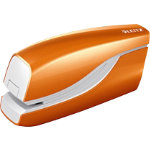 Leitz NeXXt Series WOW Electric Stapler Metallic Orange 10 sheets