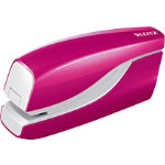 Leitz NeXXt Series WOW Electric Stapler Metallic Pink 10 sheets