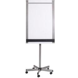 BiOffice Flipchart Easel Roll Up Grey 1 950 x 700 mm