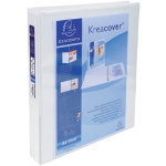 Exacompta Ring Binder 51946E A4 Maxi White Polypropylene