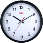 Office Depot Wall Clock RD3330B Black